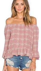 Sanctuary Clothing Off Shoulder Julia Top Size S